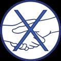 COVID 19 - Saluer sans se serrer la main, éviter les embrassades